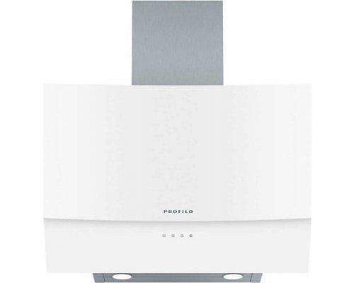 Profilo Dve6G520 Yatay Camlı Beyaz Ankastre Davlumbaz