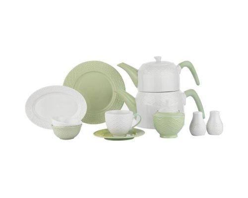 Schafer Haben 32 Parça Kahvaltı Takımı Yeşil